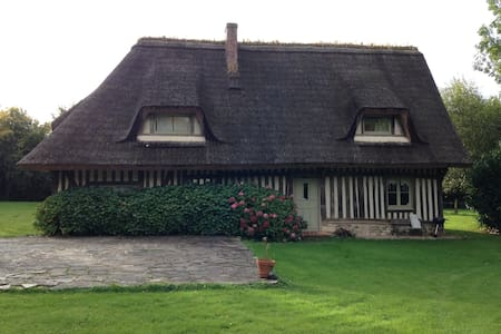 "Charming ""chaumière"" at the heart of Normandy - Le Bois-Hellain - Hus"