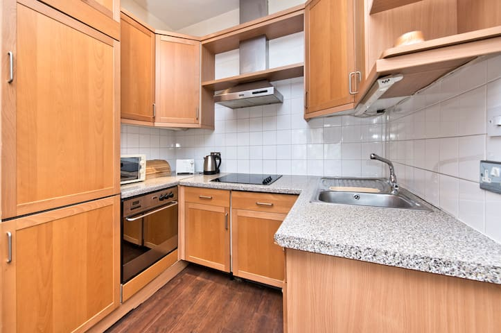 Full kitchen to rustle up anything you fancy.