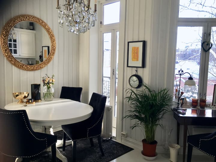 Room in classy, cosy and central apartment
