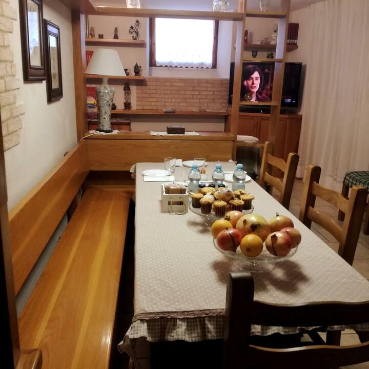 Camera singola porta zoppa