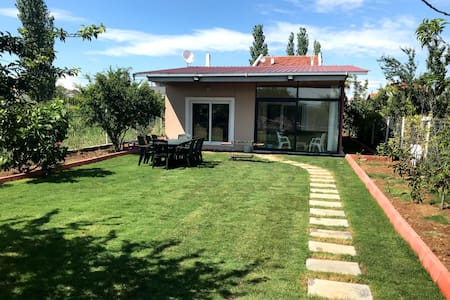 Very close to the sea Villa with Large Garden