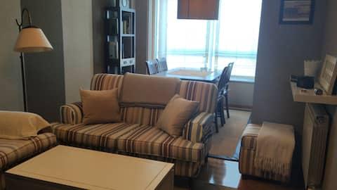 Precioso piso familiar en el centro  de Sada
