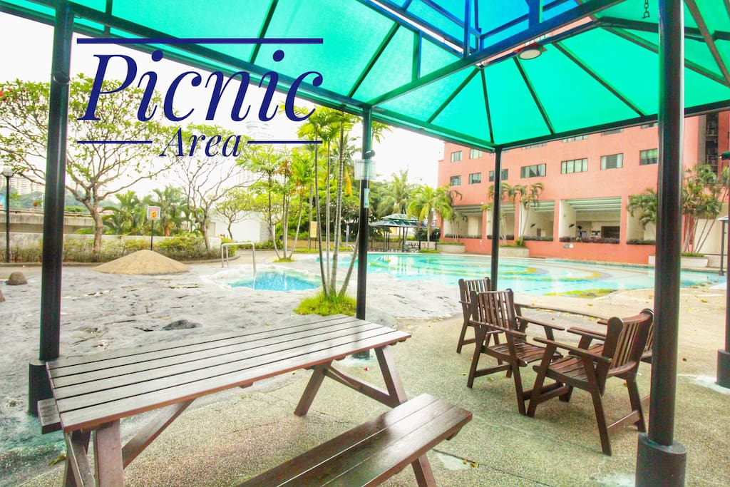 Picnic Area - relax, have a beer, or take a dip!