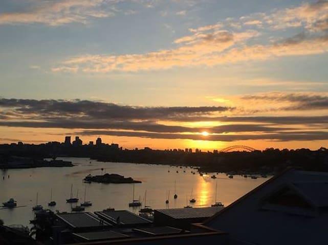 Expansive Sydney Harbour Views