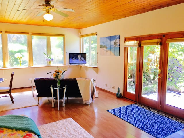 Private Room in Volcano with Lanai - Volcano - House