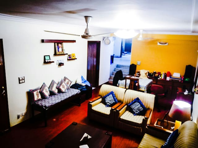Attractively located home in heart of South Delhi