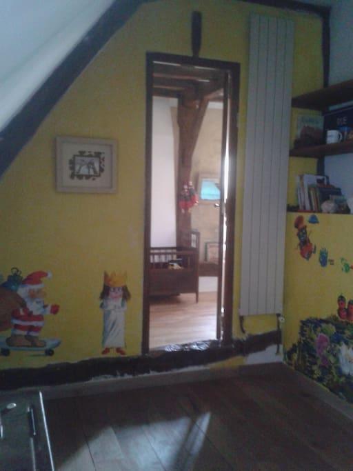 Passage entre les deux chambres