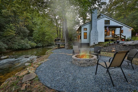 Almost Heaven on Mountaintown Creek-  For the Sporting Couples with Discerning Taste