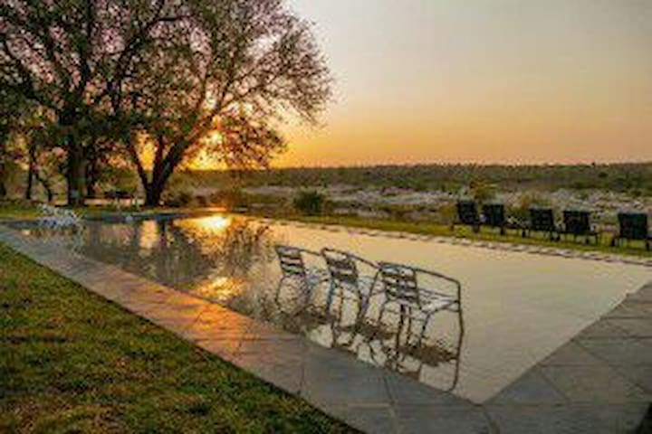 Mejejane Game Reserve - River Lodge - Rumah