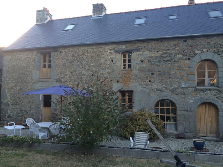 The Langourla Farmhouse,  16th century near Dinan.