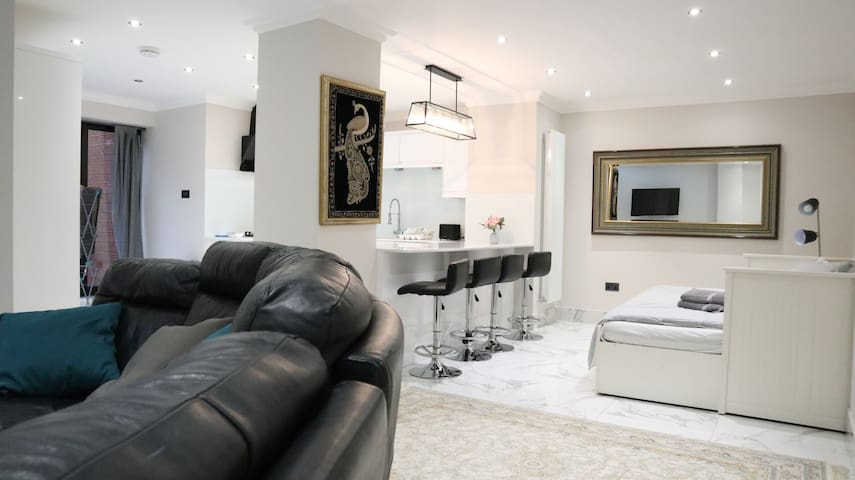 Large & Bright Luxury High Spec Wembley Flat