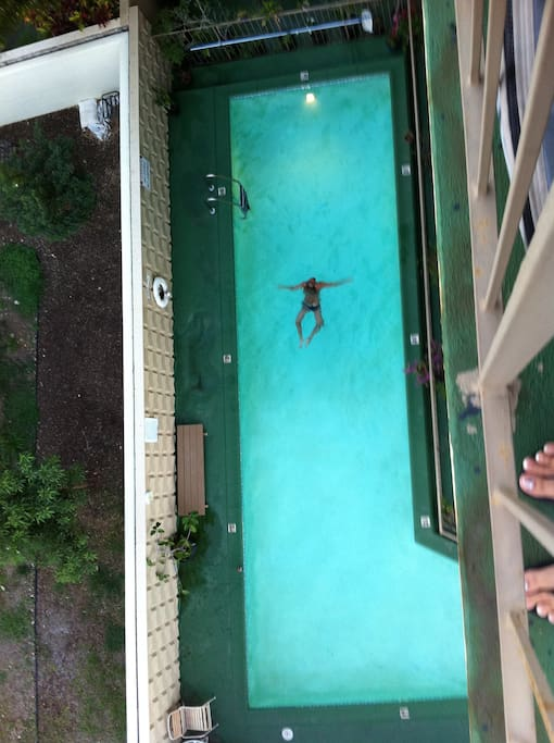 swimming pool from 6th floor