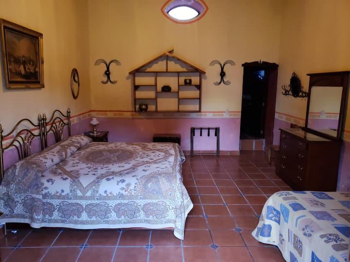 Habitación Castañas en Hacienda San Buenaventura