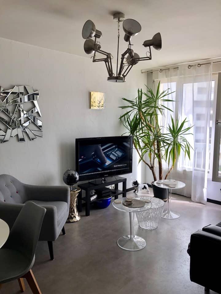 Appartement moderne et bien situé Rennes centre
