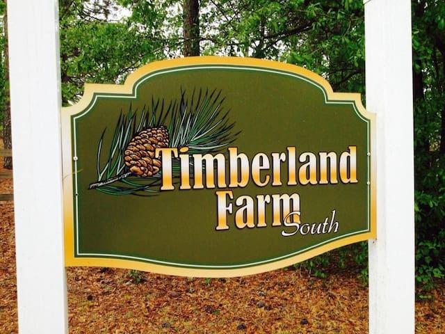 Timberland Farm South-Home and barn