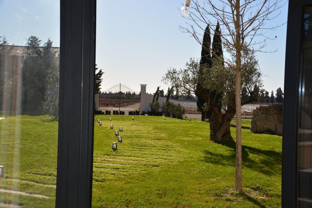 vue du logement Mondrian