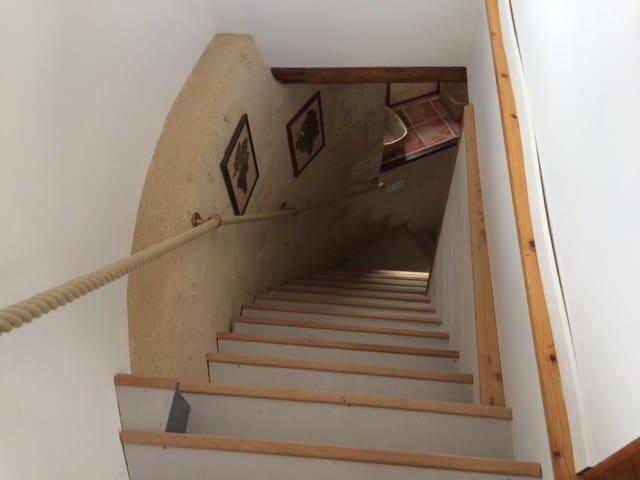 Et encore des escaliers ...