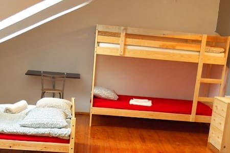 FAMILY ROOM with double bed+free breakfast Parking - Vilna