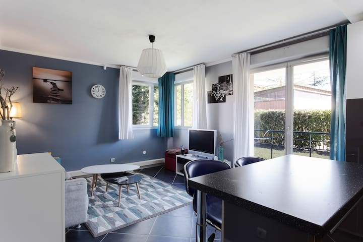 t3 avec terrasse, piscine, parking - Toulouse - Apartment