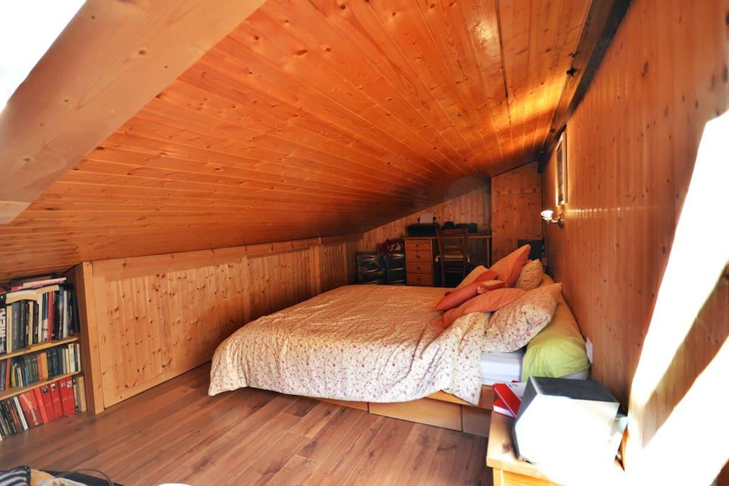 Sleepingroom upstairs