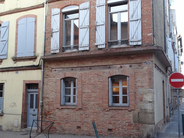 Little charming townhouse in Montauban's heart