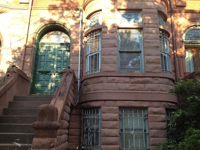 1st Floor Brownstone in Jersey City
