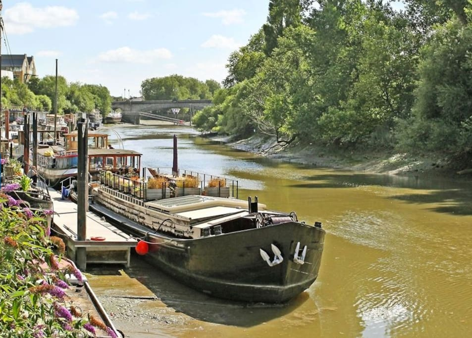 Dutch Barge houseboat by Kew Bridge - Boats for Rent in