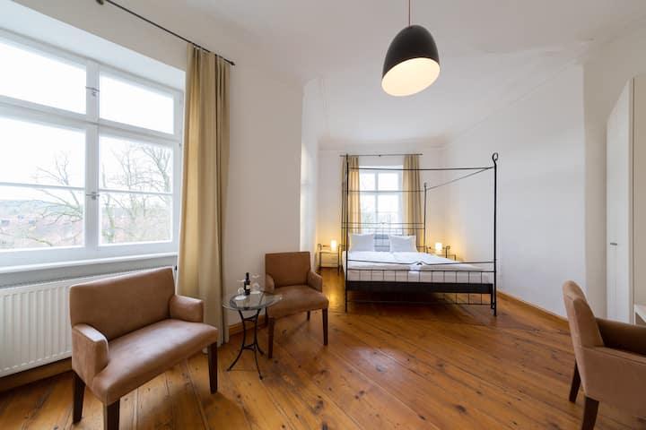 Schlossparkhotel - Deluxe Vierbettzimmer Schloss