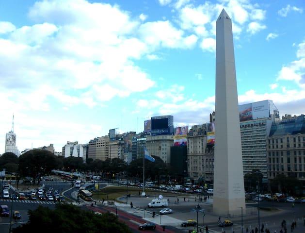 Departamento Buenos Aires frente al Obelisco!! - Buenos Aires - Apartment