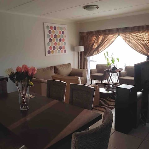 Secure Home with WIFI, nearby OR Tambo and Malls