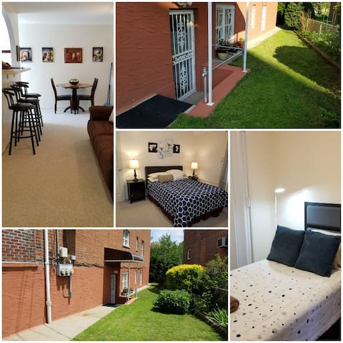 Lovely, Spacious & Private Garden Apt in Bronx, NY