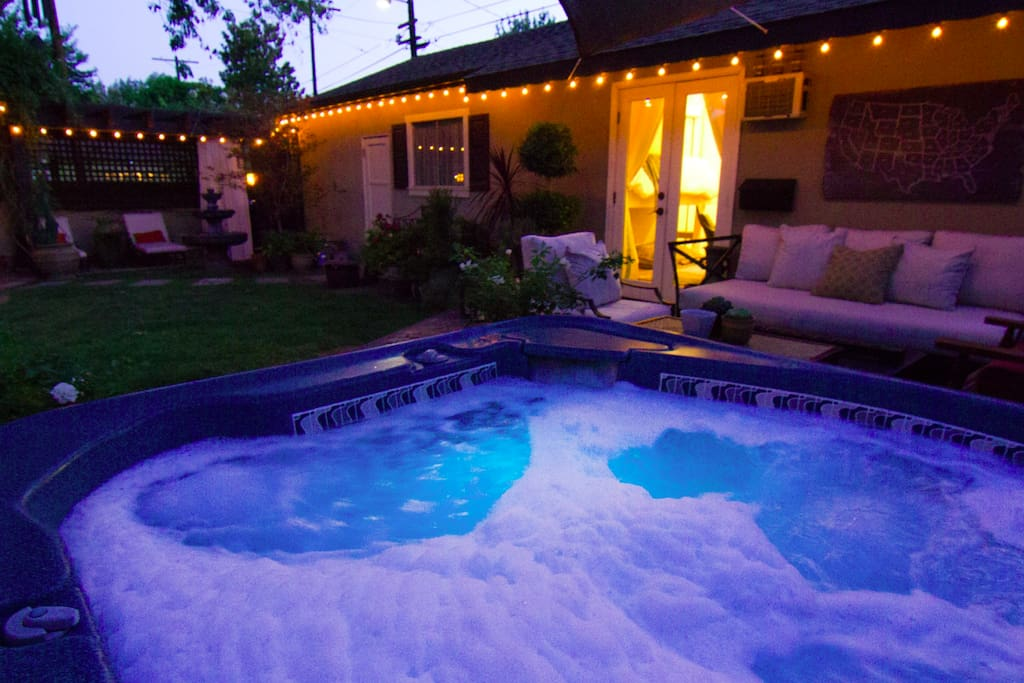 Jacuzzi at Night