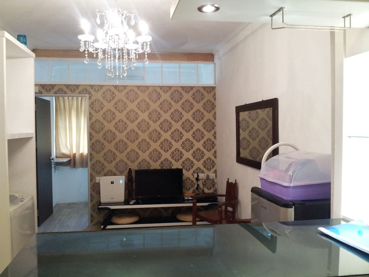Bali Style designed living hall