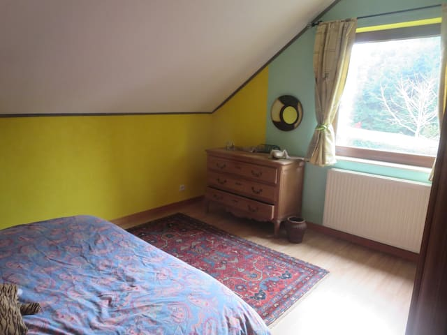 Chambre 2 personnes dans un endroit super calme