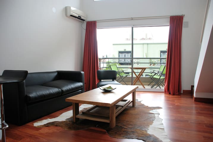 Loft with Balcony in Belgrano