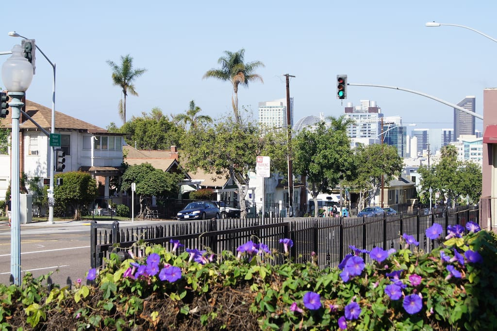 Walking Distance to the Heart of Downtown San Diego