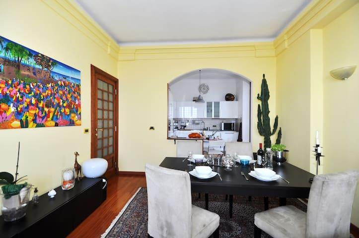 Attico WIFI Riviera Ligure Ponente - Genua - Appartement