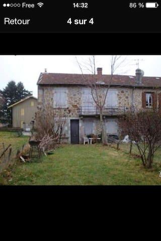 Appartement Ardèche verte 4 pièces  - Lalouvesc - Apartment