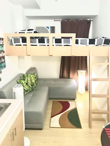 Brand New Fully Furnished Studio Unit Quezon City