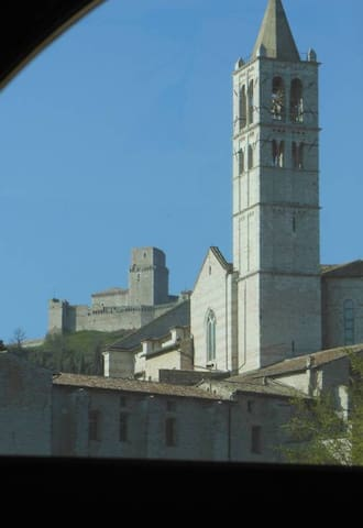 ASSISI FAMILY HOME town center with or without car - Assisi - Apartment