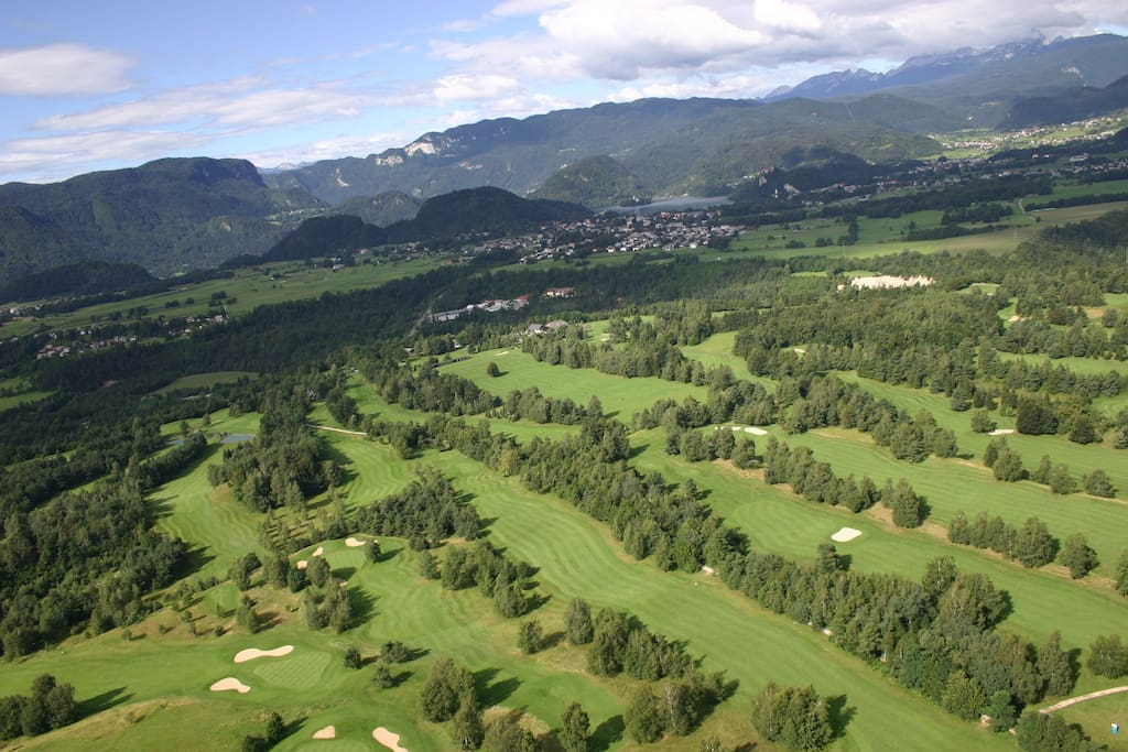 Bled golf course