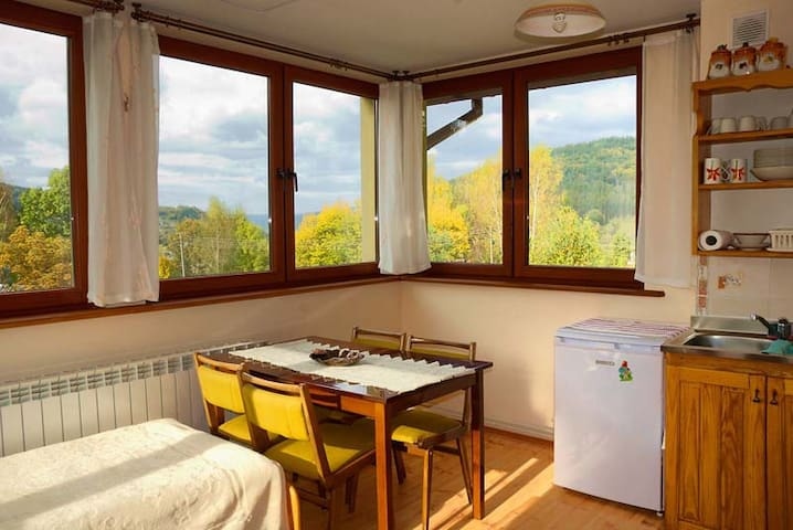 Big bright room  for 4 persons Bieszczady, Poland