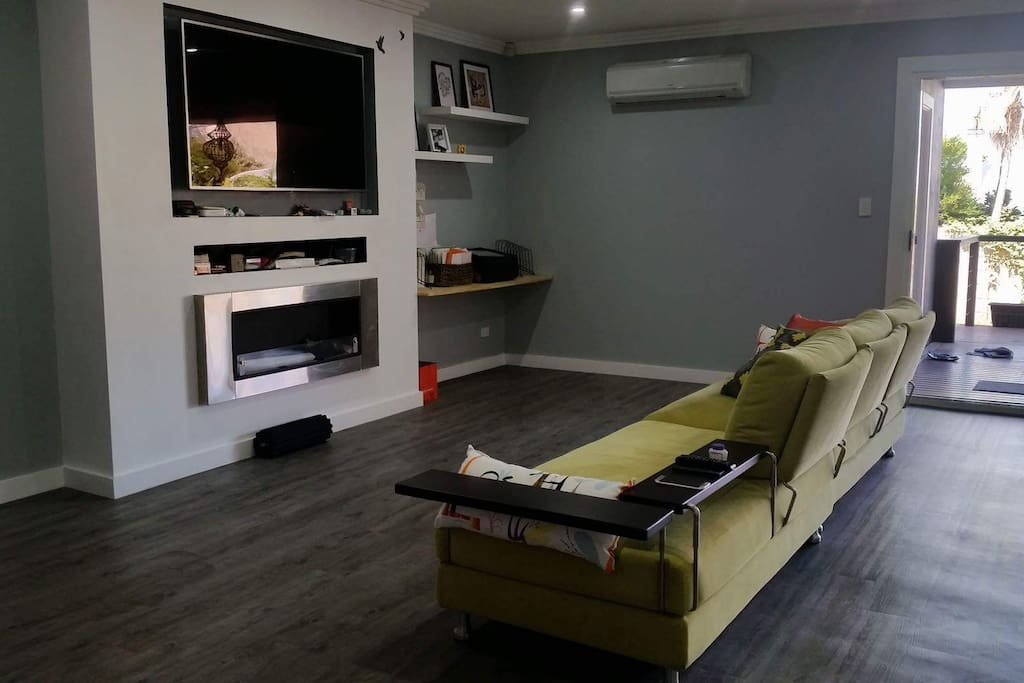 Shared living space area
