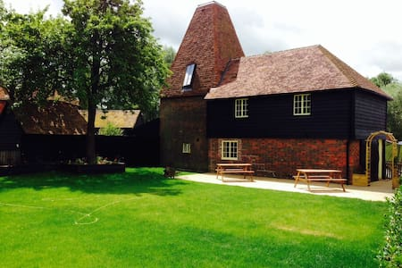 The Oast House, Darling Buds Farm - Bethersden - Hus