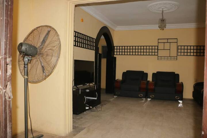 Pouch 2 bed rooms apartment, two bathrooms & patio