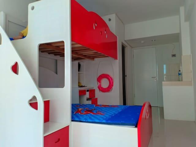 Apartemen studio 1830 Grand Sentraland Karawang