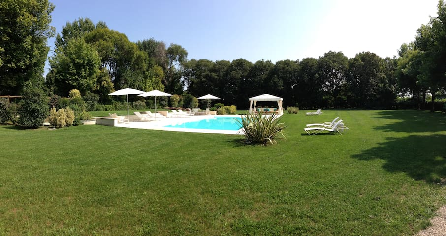 Piscina, Villa Zane, b&b Villa Veneta, Treviso, Venezia, Veneto