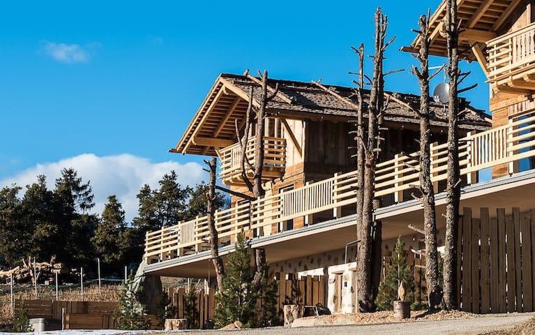 Chalet Resort ZU KIRCHWIES - Lajen - Nature lodge