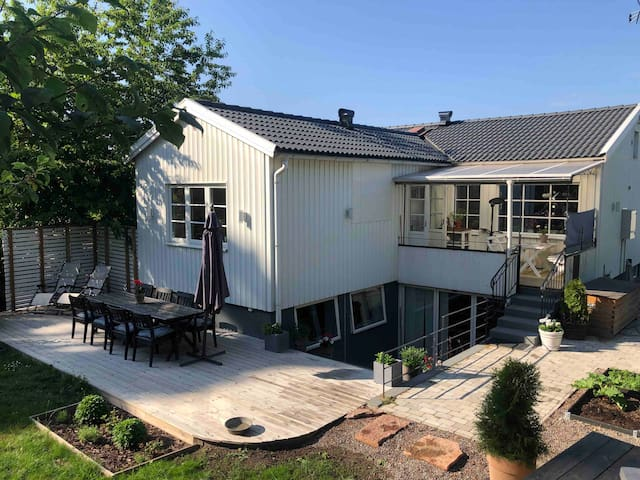 Charming house with a lovely garden in Stockholm