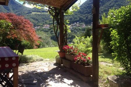 panoramica villa in pietra - Schignano - Villa - 2